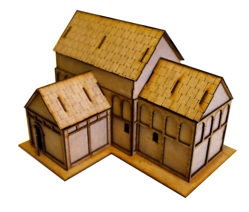 28mm Anglo Saxon Church/Minster