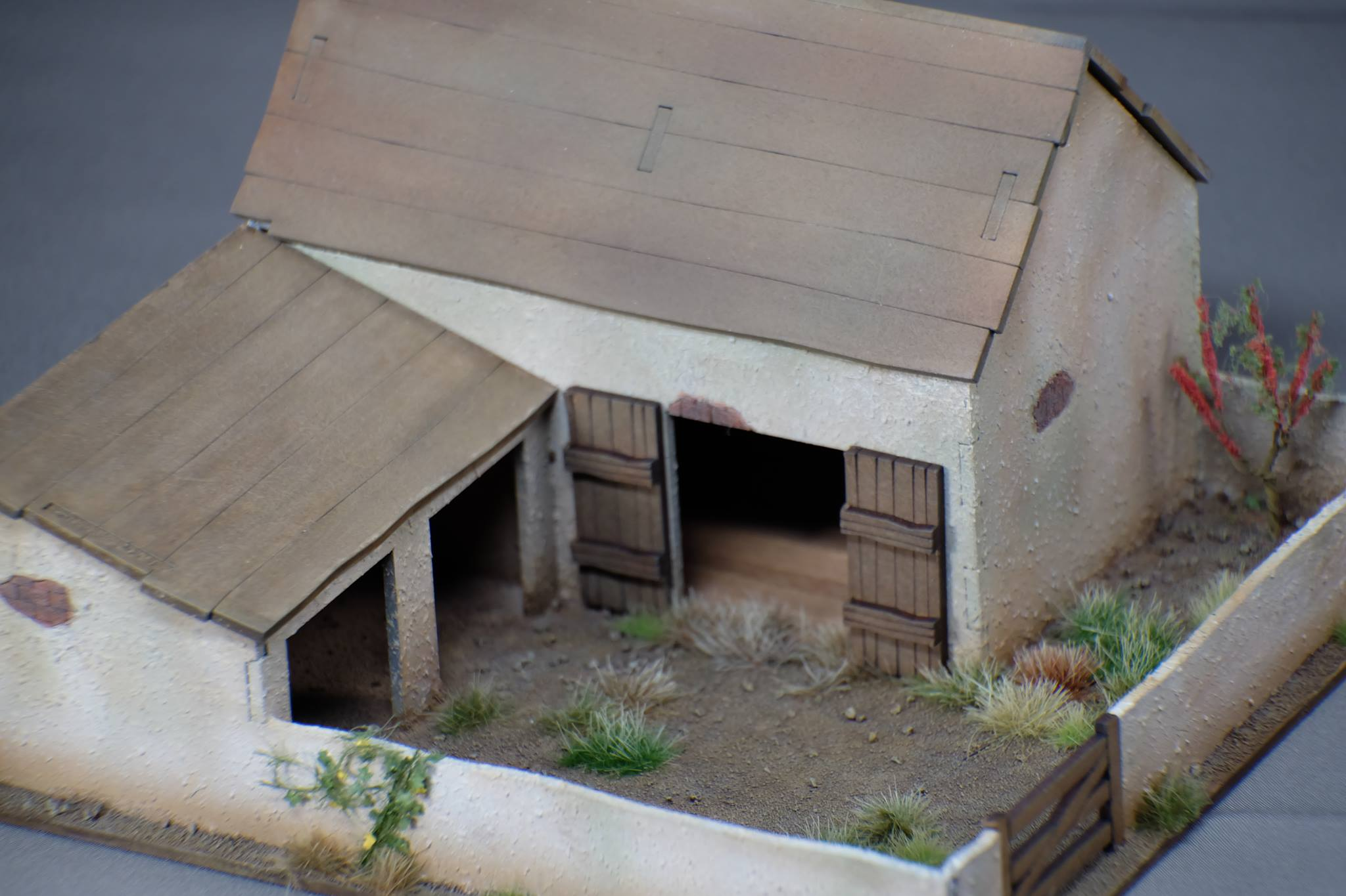 28mm Small Animal Pen/Outbuilding