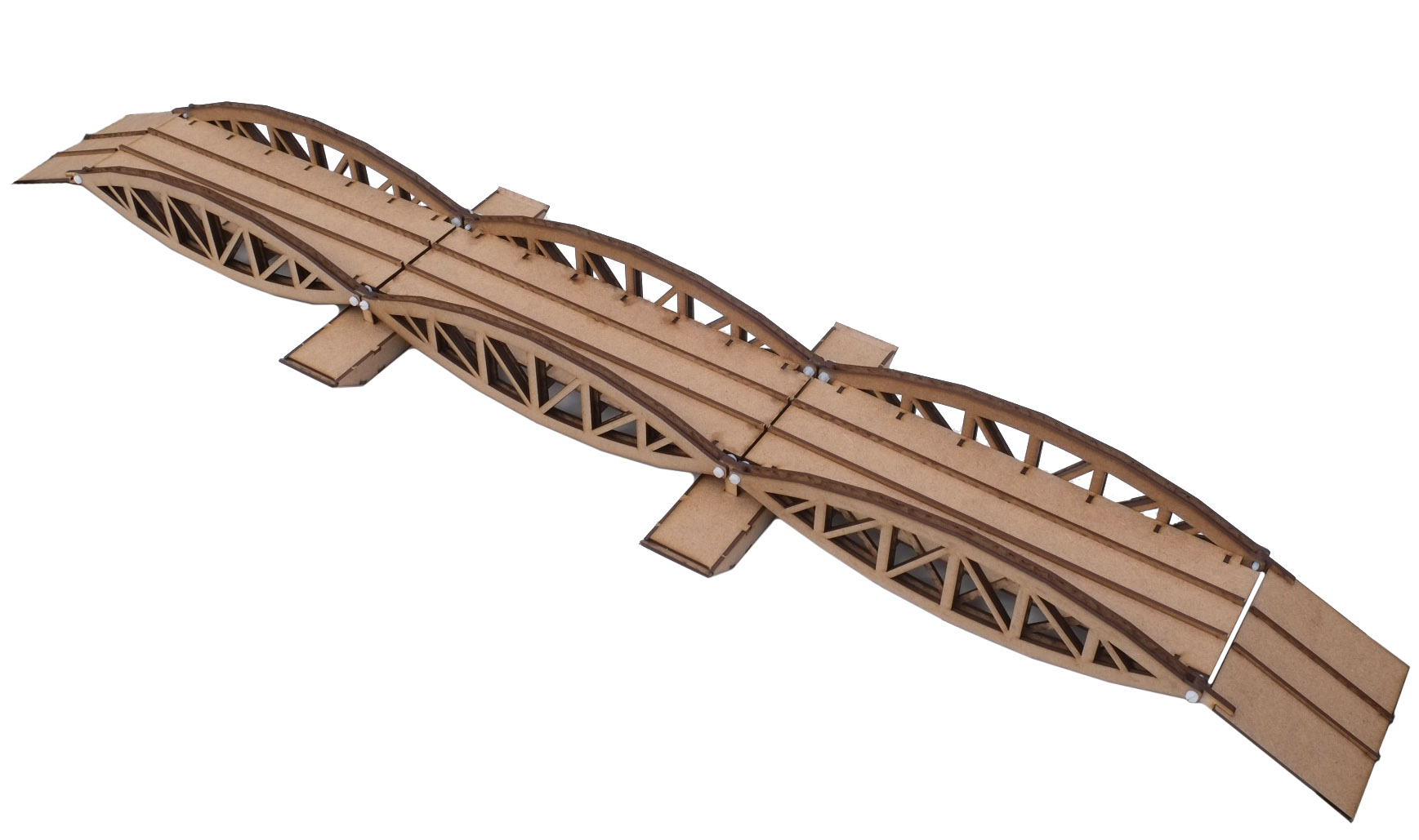 28mm Pontoon Bridge - 3 Section
