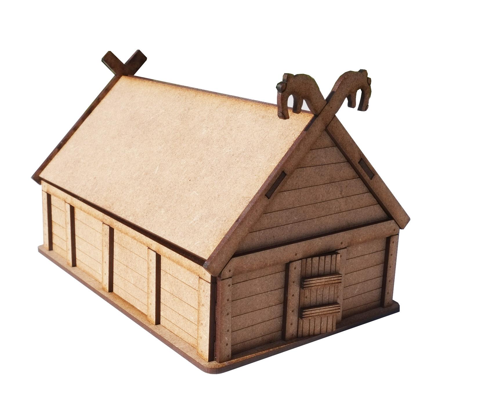 28mm Viking Hut
