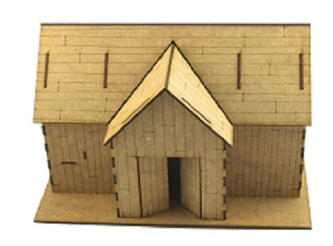 28mm Timber Barn