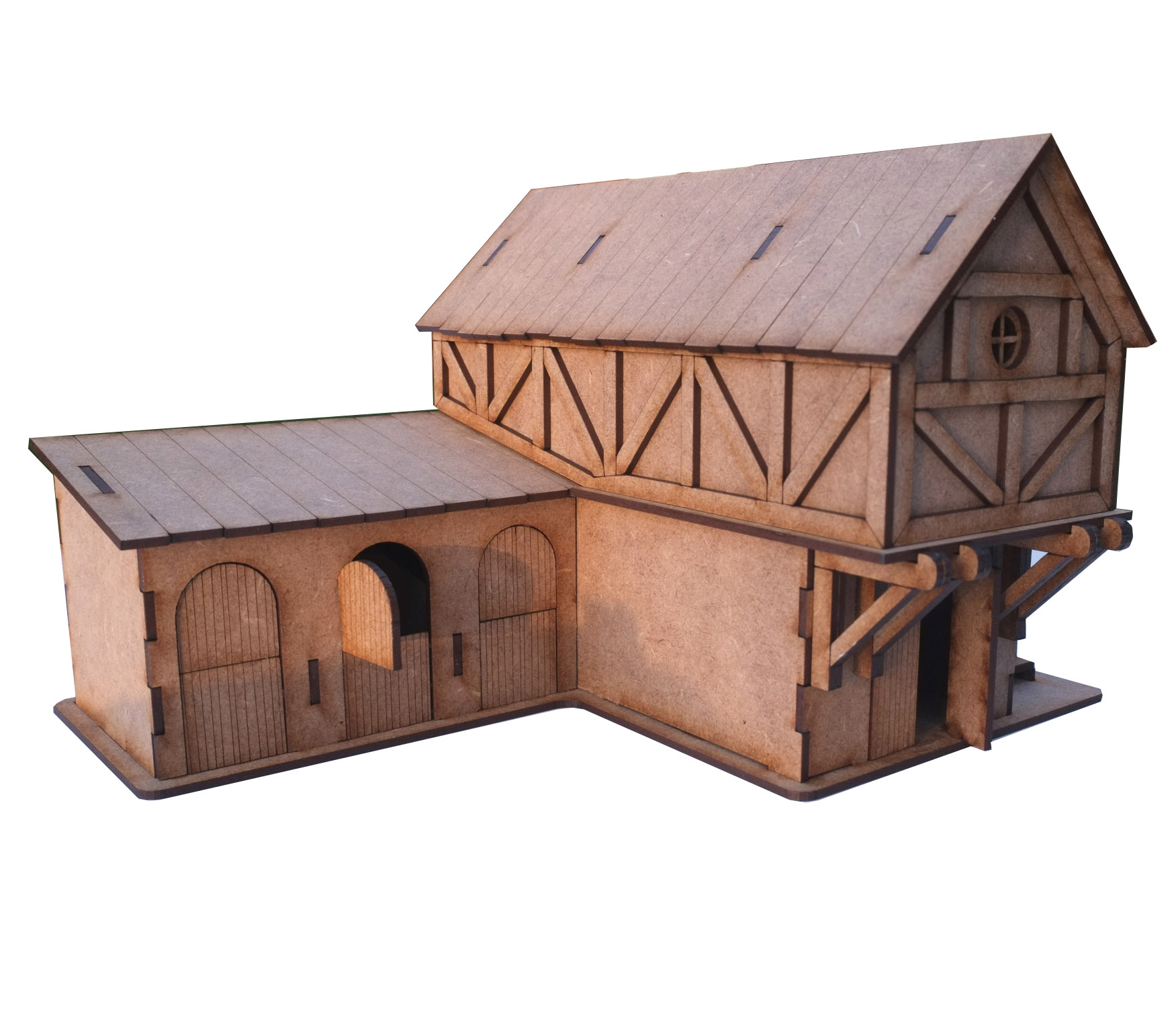 28mm Fantasy Stable Block