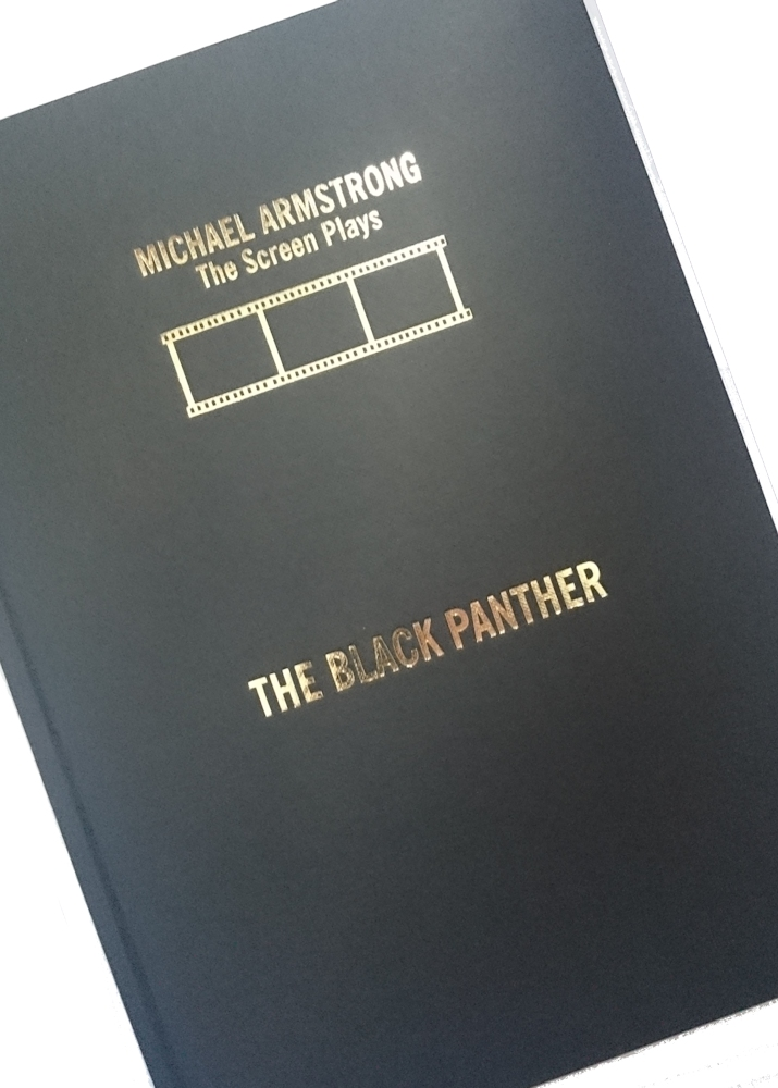 The Black Panther - Screen Play (Signed Hardback)