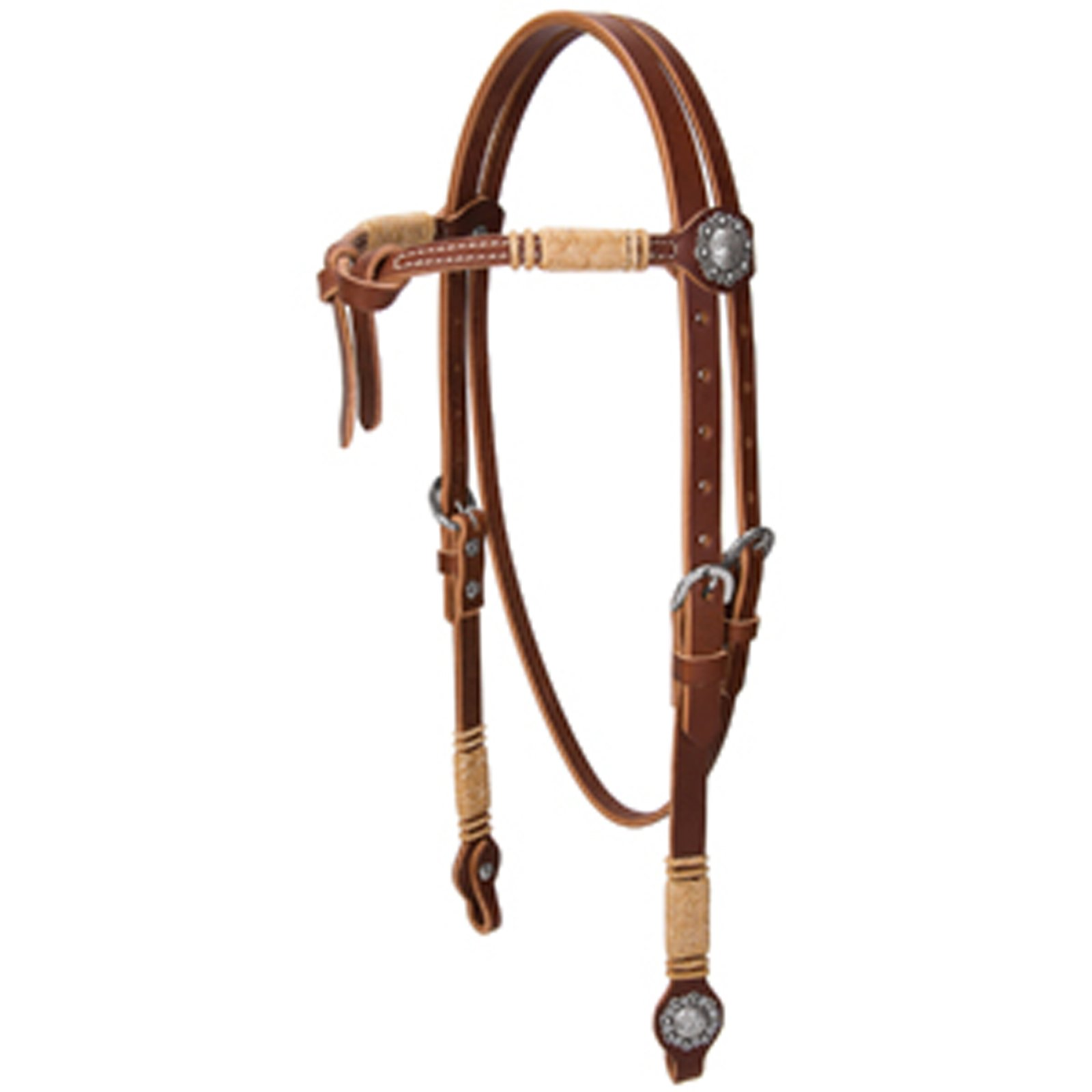 Weaver Knotted Browband Headstall