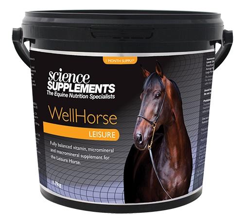 Science Supplements WellHorse Leisure Horse Feed Balancer