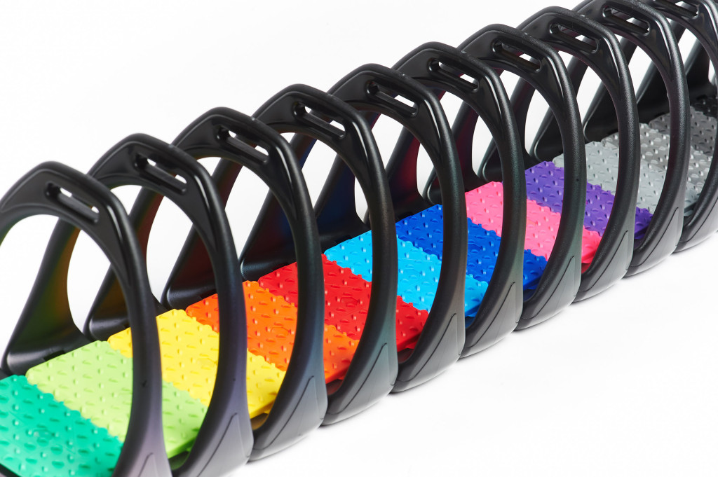 Compositi Coloured Reflex Stirrups