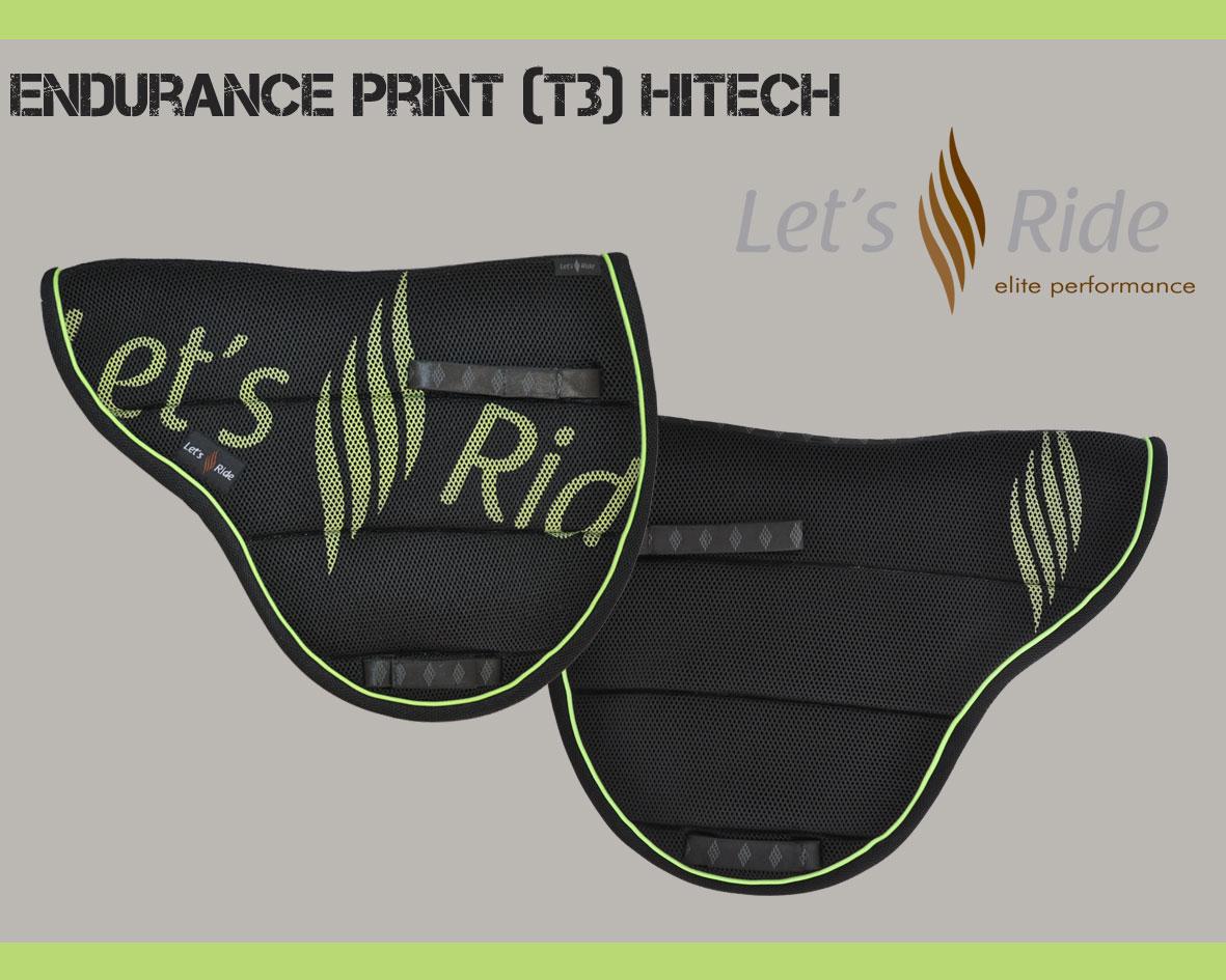 Let's Ride Endurance Pad - Printed