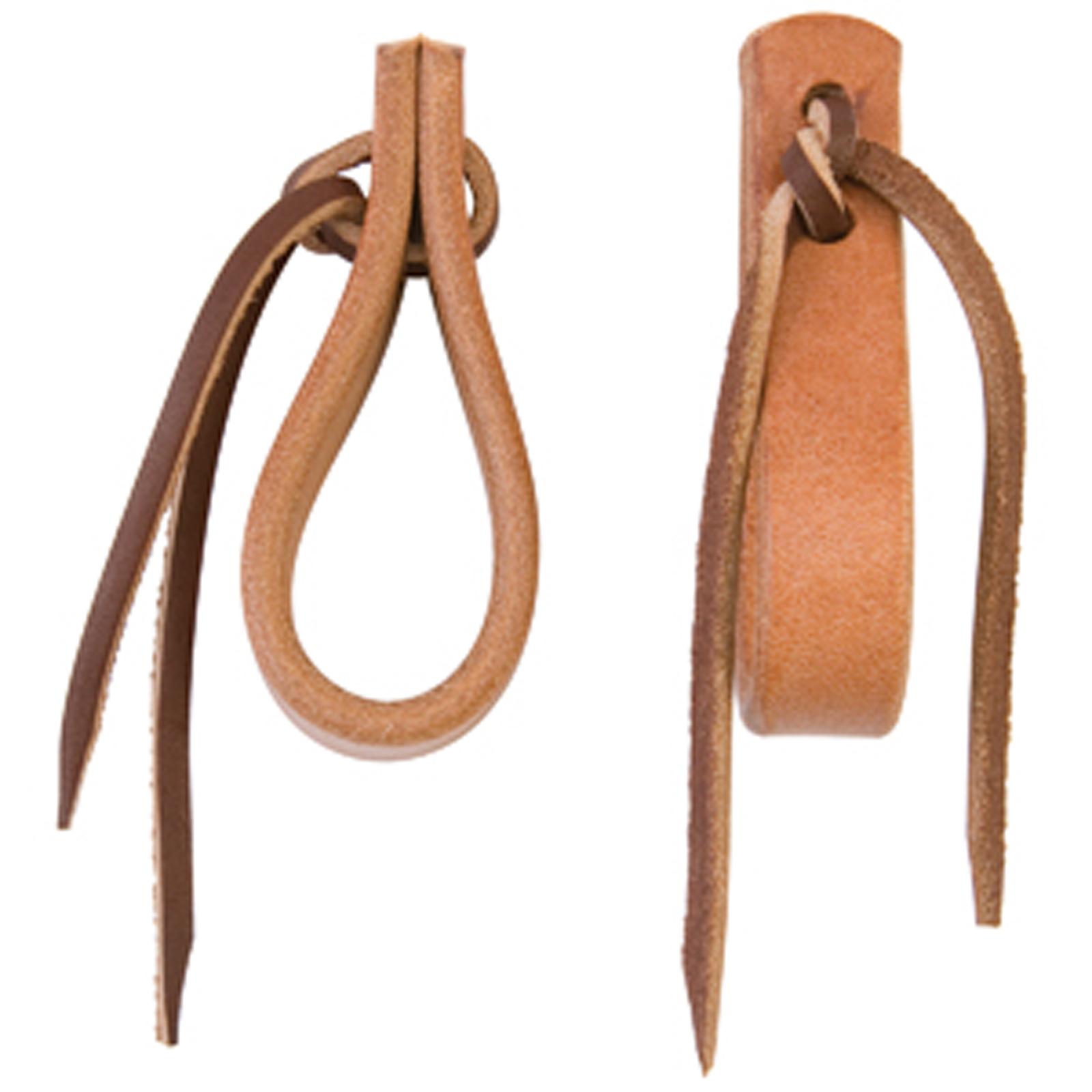 Weaver Water Tie Ends with Brown Latigo Ties