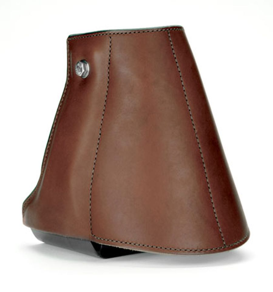 E-Z Ride Stirrups with Leather Cover & Tapadero