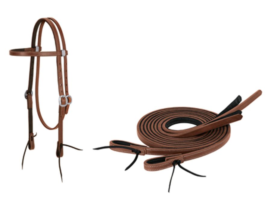 ProTack Chap Lined Western Headstall Collection