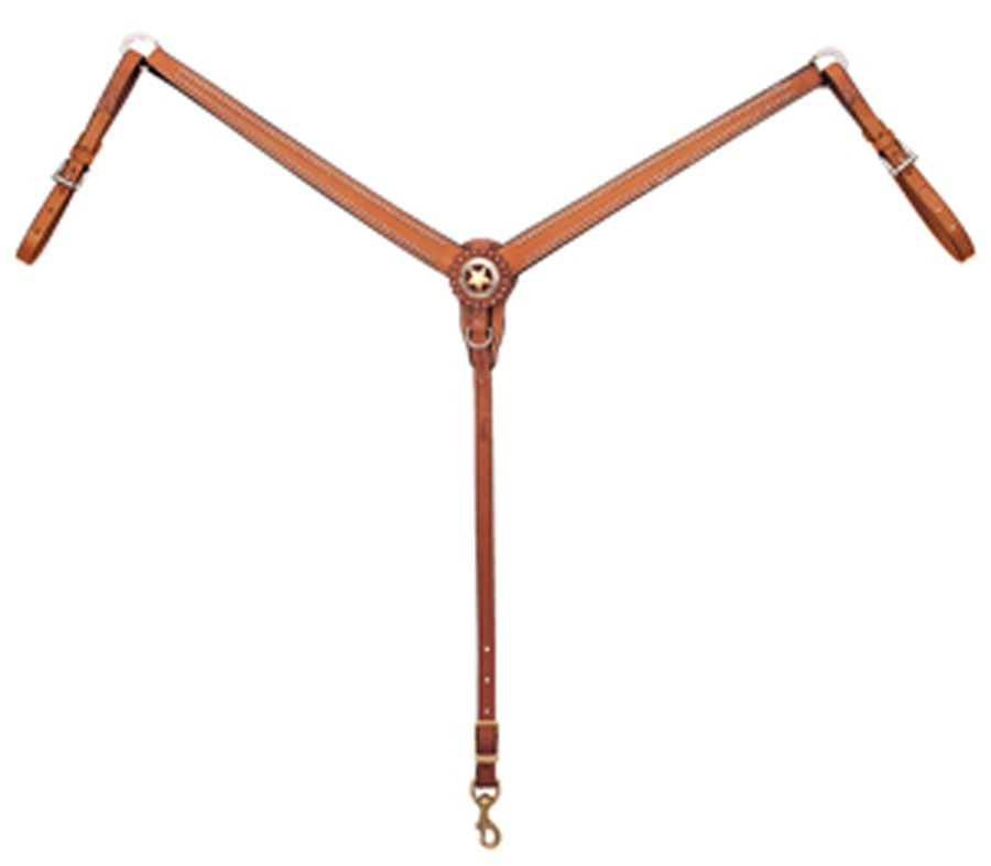 Weaver Leather Texas Star Breast Collar