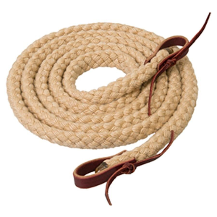 Weaver Leather Silvertip Hollow Braid Roper Rein