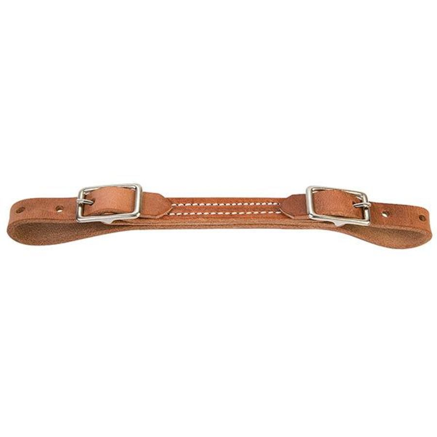 Curb Strap Weaver Flat Leather