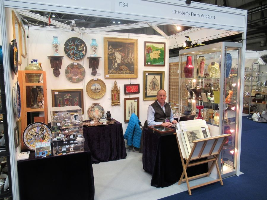At the NEC, Birmingham, November 2018 - Chester`s Farm Antiques