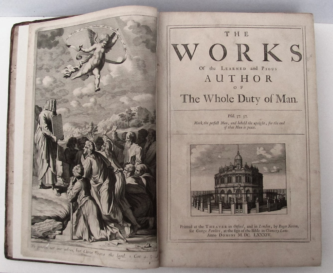 The works of the author of The Whole Duty of Man, Richard Allestree, 1684, rare