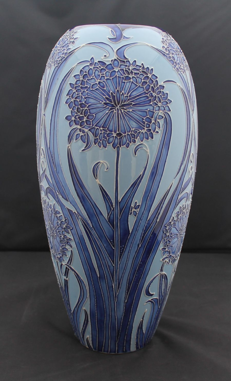 Moorcroft Leila vase Designed by Carole Lovatt, 2003, Limited edition of 25