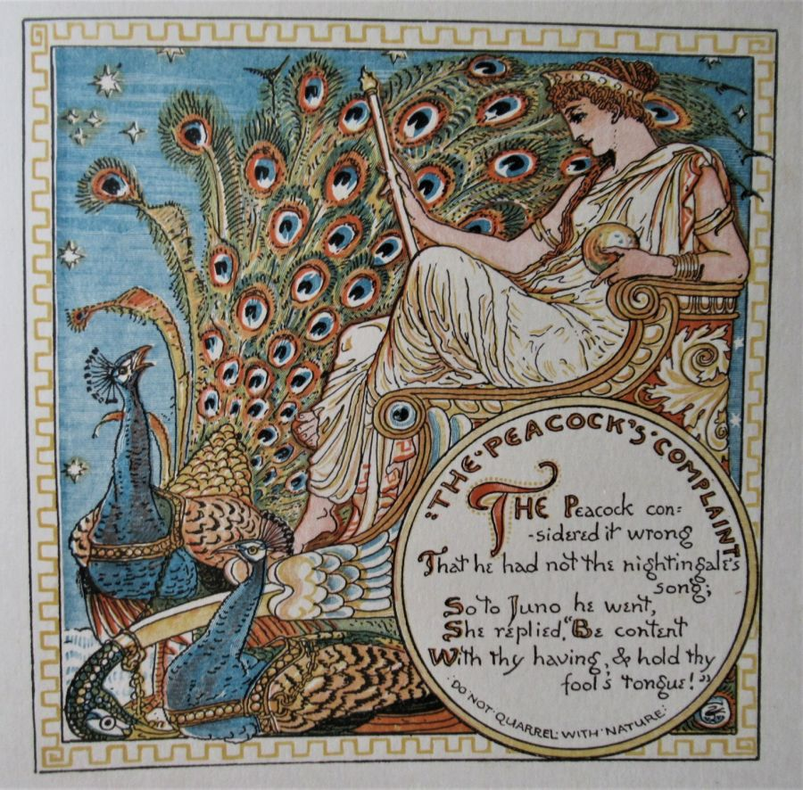 Triplets, by Walter Crane (artist), 1899 limited edition of 750, children's book