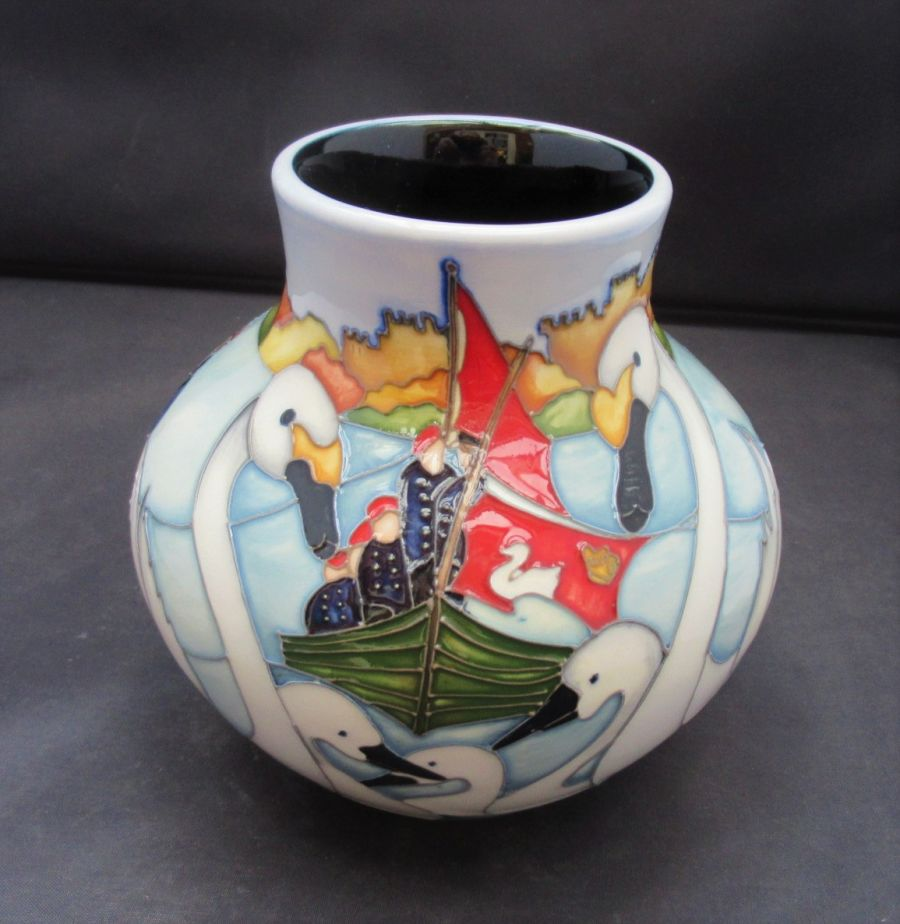 Moorcroft, Swan Upping, Trail Design by Kerry Goodwin, 2015