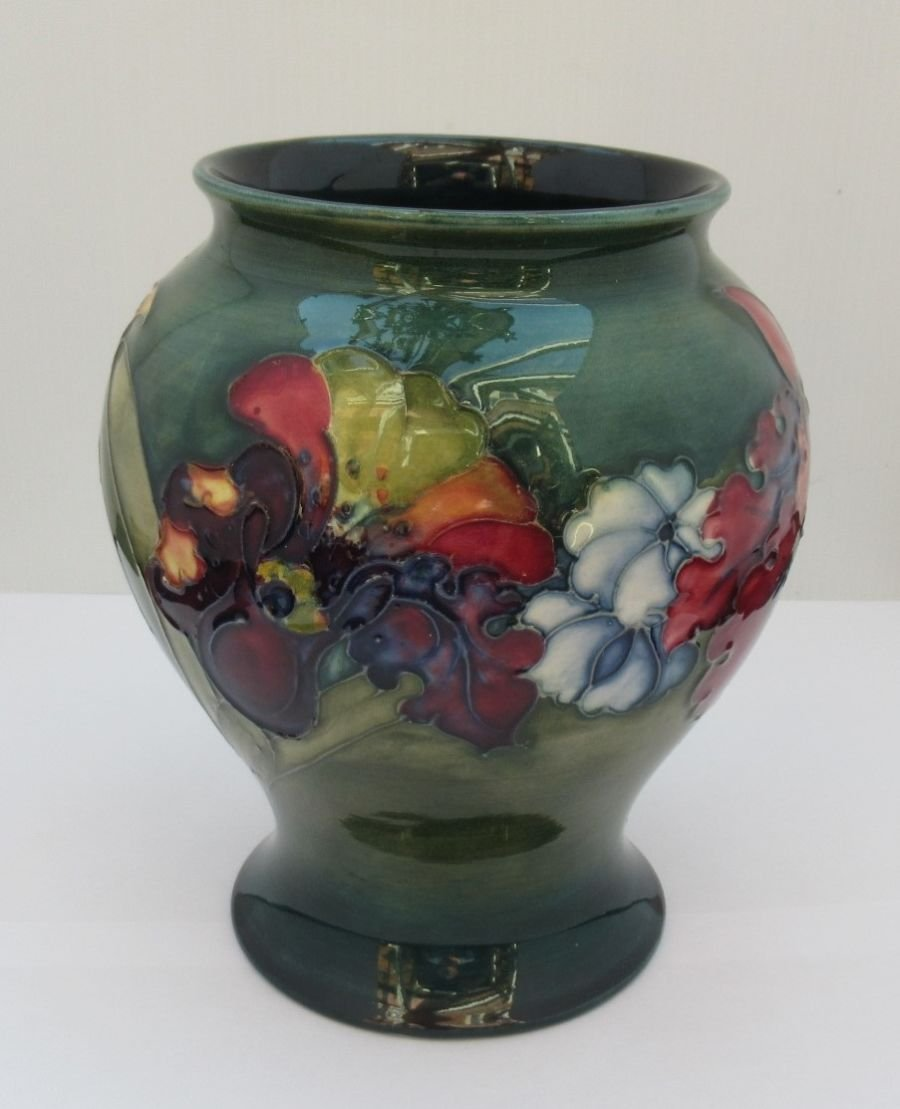 Moorcroft, Orchid & Spring Flowers, Design by William Moorcroft, c1940