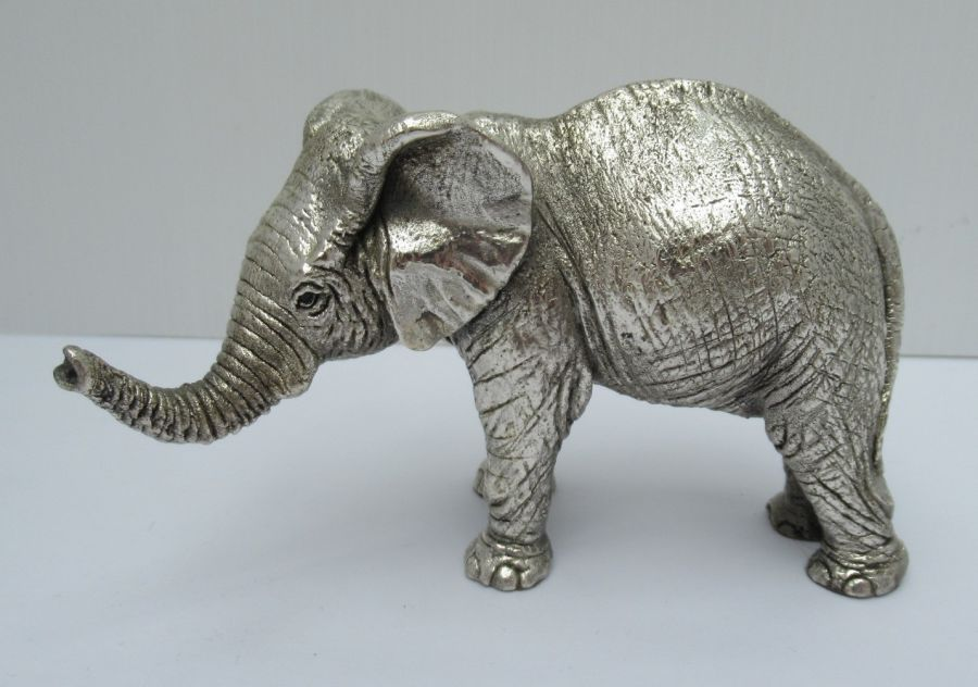 Vintage Sterling Silver Elephant By Country Artists, Birmingham 1992
