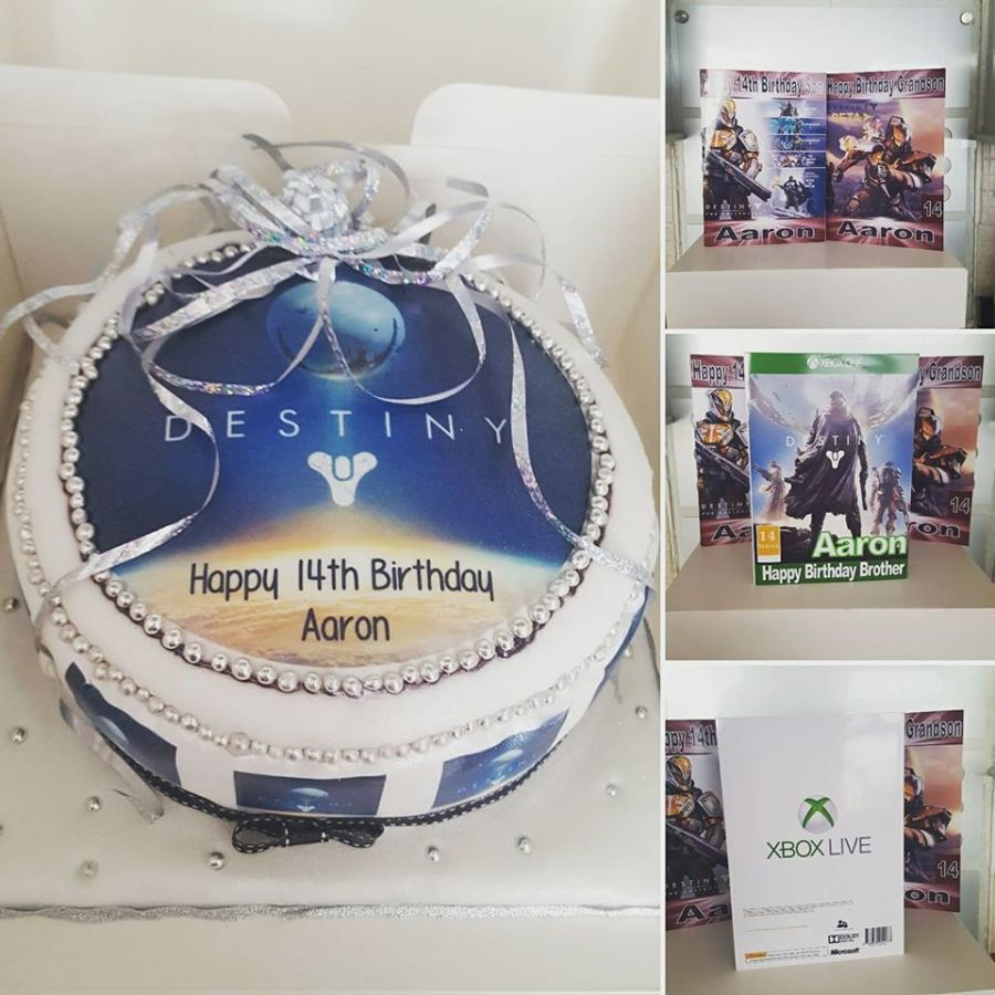 Personalised Birthday Card Xbox