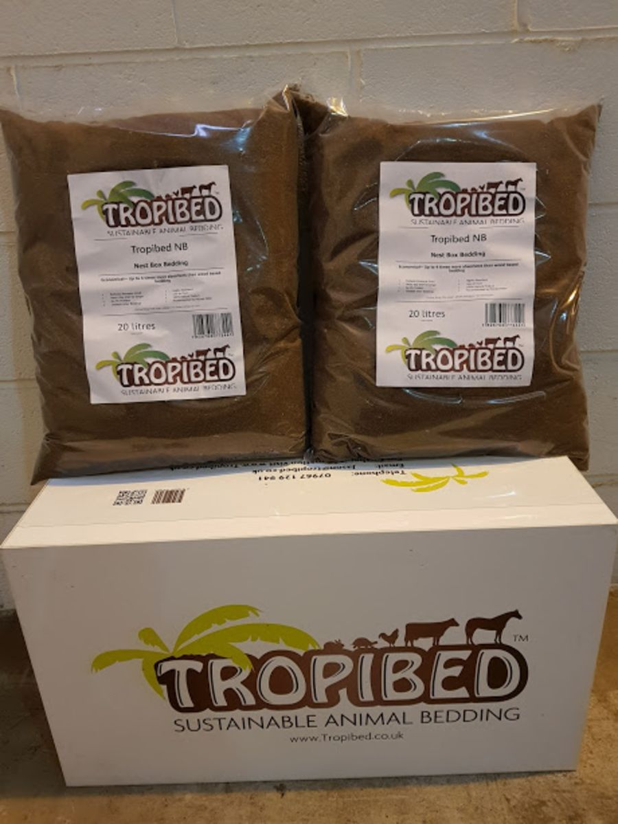 Tropibed NEST BOX 2 x 20 Litre INTERNATIONAL DELIVERY AVAILABLE ON THIS PRODUCT