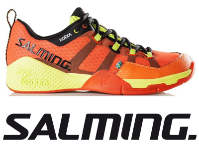 Salming Kobra - Magma Red / Black - UK 8.5 / US 9.5 / EU 43 1/3