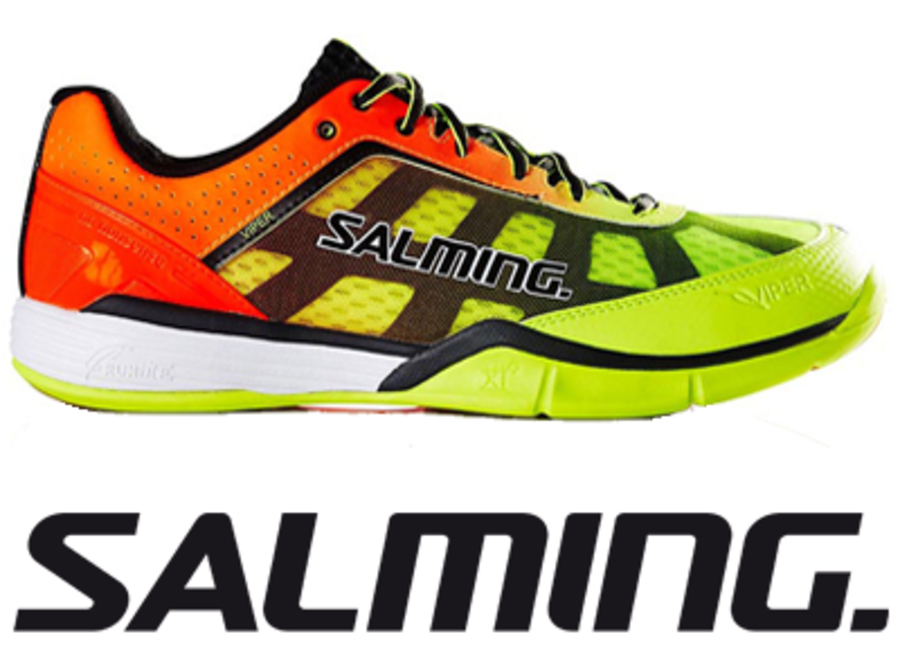 Salming Viper 4.0 - Yellow/Orange - UK 8.5 / US 9.5 / EU 43 1/3