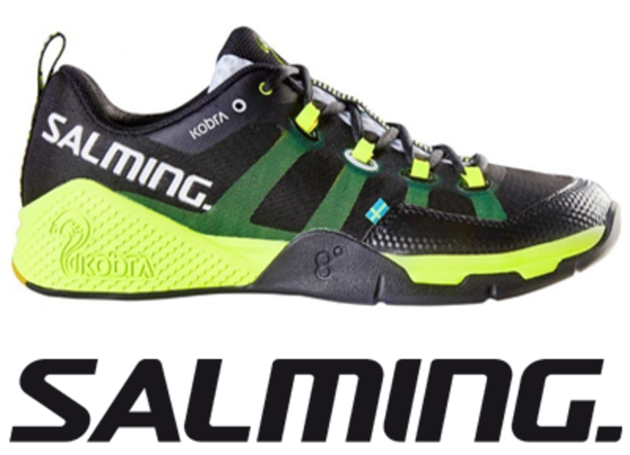 Salming Kobra - Black/Safety Yellow - UK 8.5 / US 9.5 / EU 43 1/3