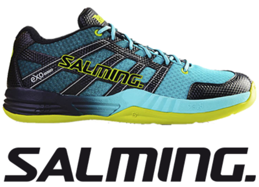 Salming Race X - Turquoise - UK 10.0 / US 11.0 / EU 45 1/3