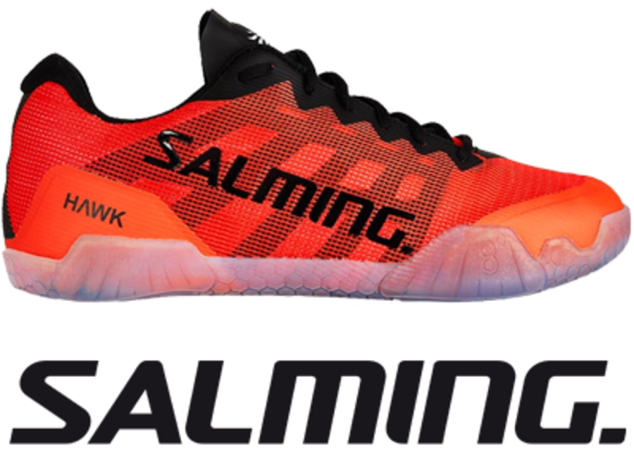 Salming Hawk - Red / Black - UK 8.5 / US 9.5 / EU 43 1/3