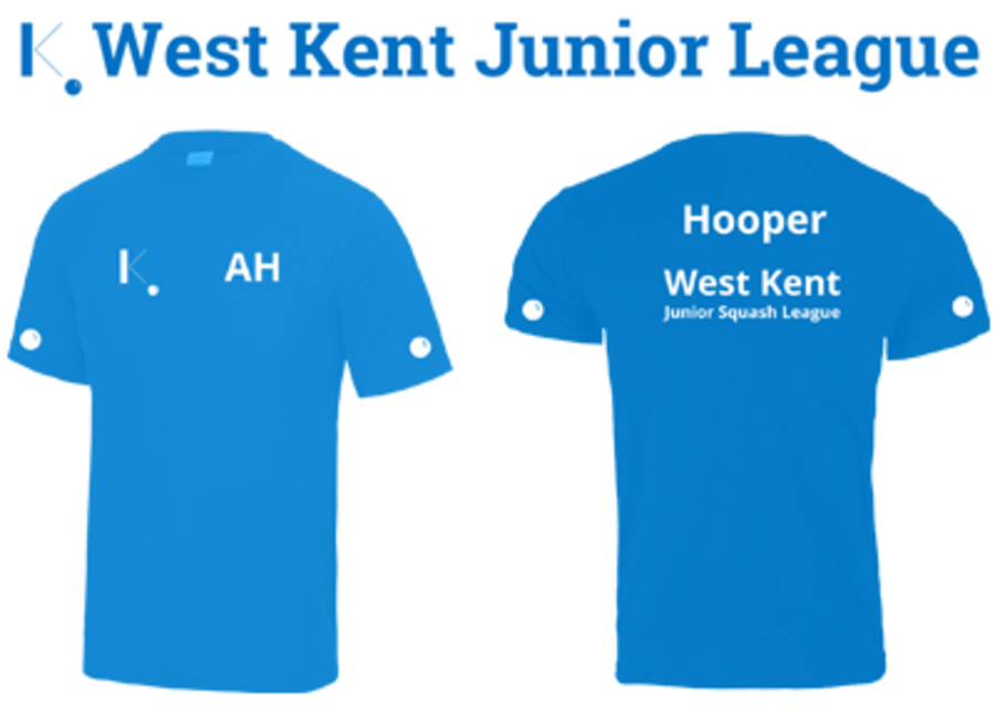West Kent Junior League T-Shirt - Sapphire Blue