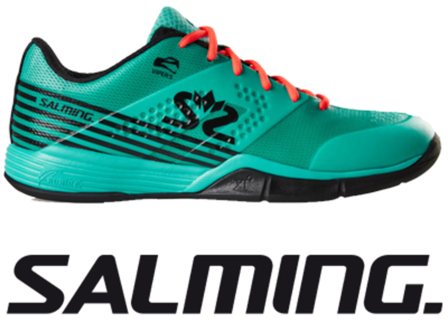Salming Viper 5 - Turquoise / Black - UK 8.5 / US 9.5 / EU 43 1/3