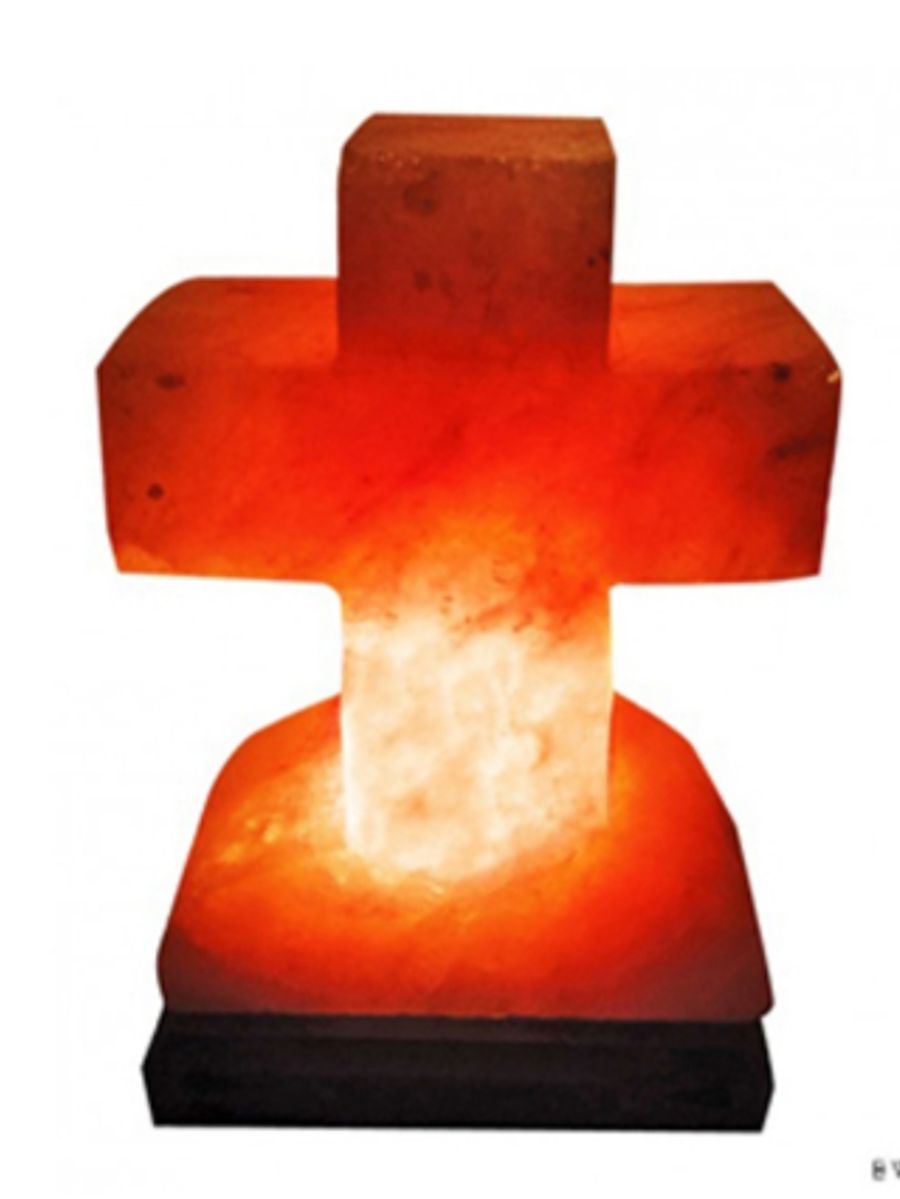 Crafted Cross Lamp
