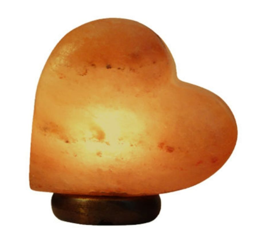 HEART SHAPED SALT LAMP
