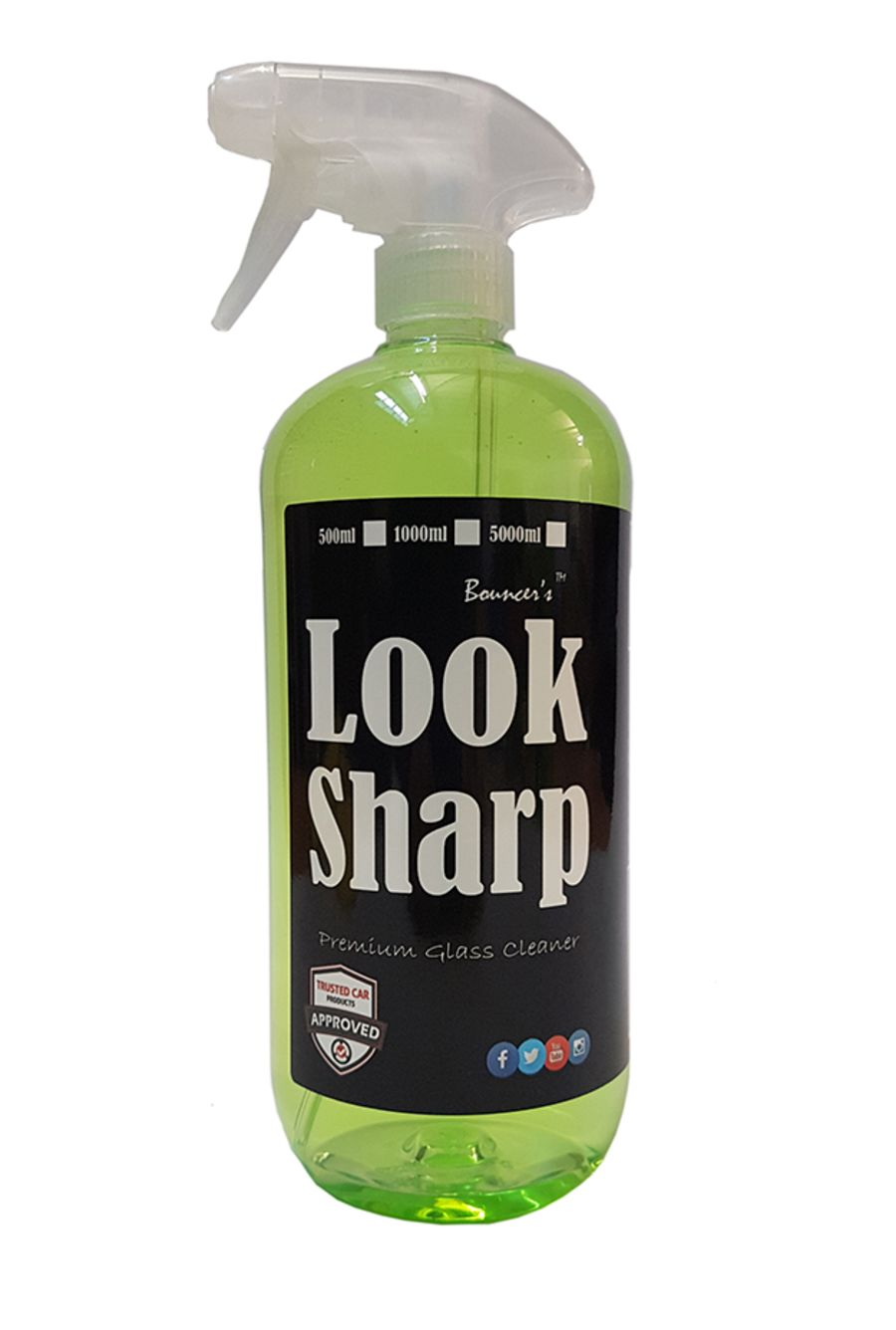 Bouncer's Look Sharp Glass Cleaner