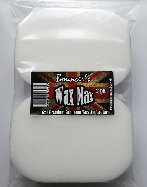Bouncer's Wax Max Super Soft Applicator 2pk