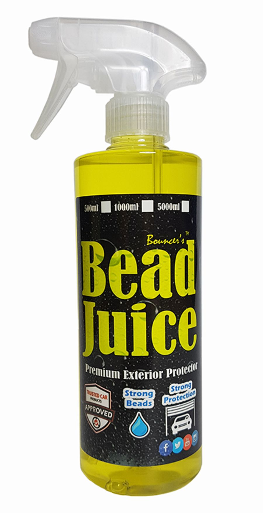 Bouncer's Bead Juice 500ml