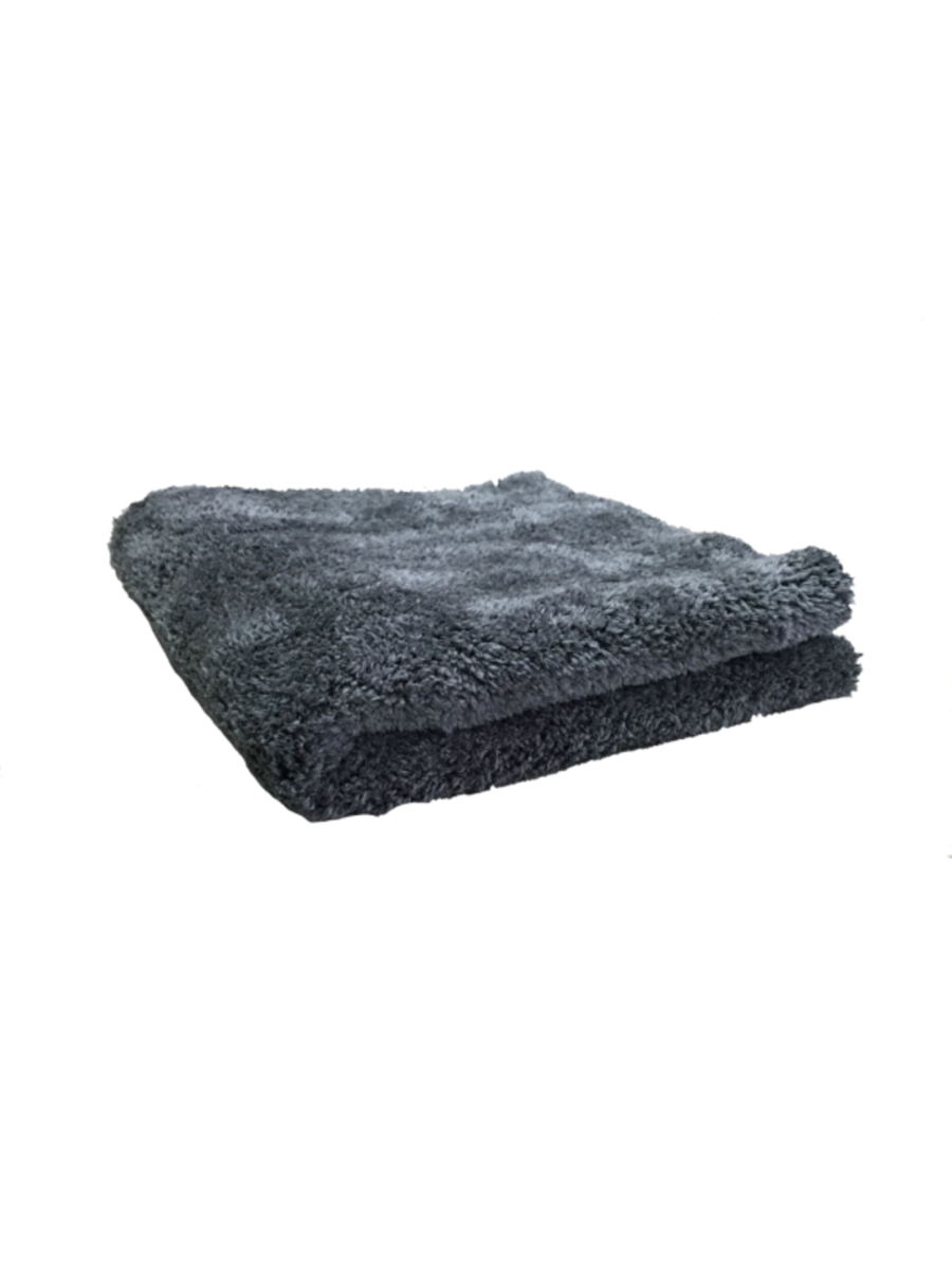 16 x 16 Ultra Plush 600gsm Dark Grey Edgeless Microfibre