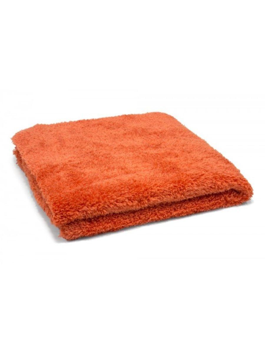 16 x 16 Super Plush 470gsm Orange Edgeless Microfibre