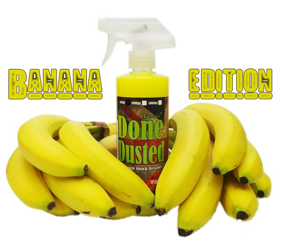Done & Dusted Banana Edition Quick Detailer
