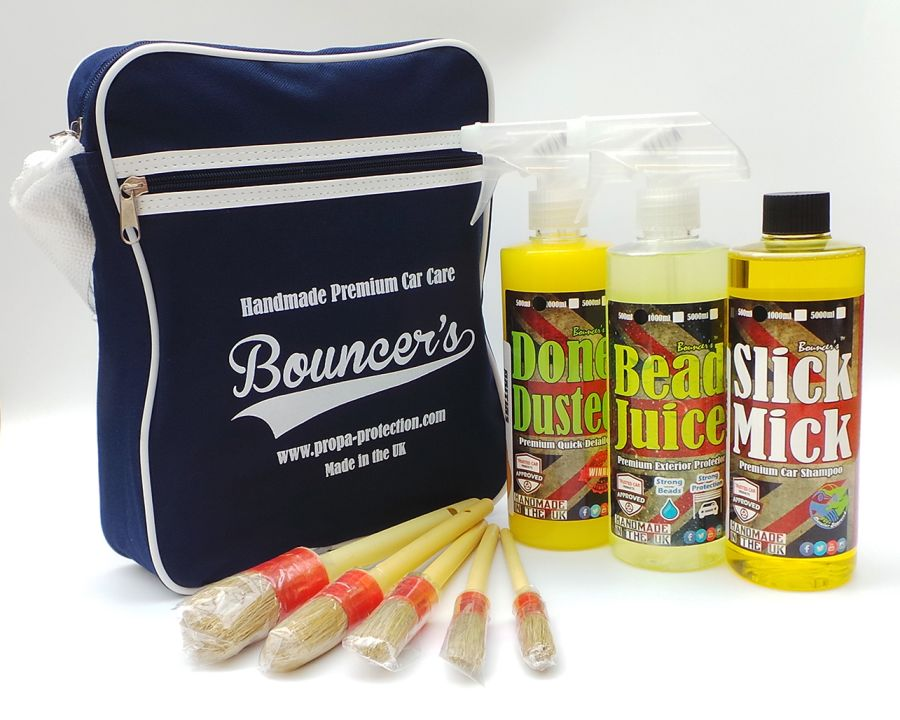 Bouncer's Exterior Wash & Protection Kit