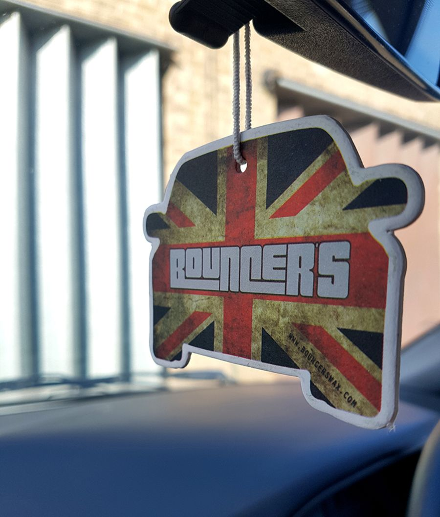 Bouncer's Hanging Air Freshener