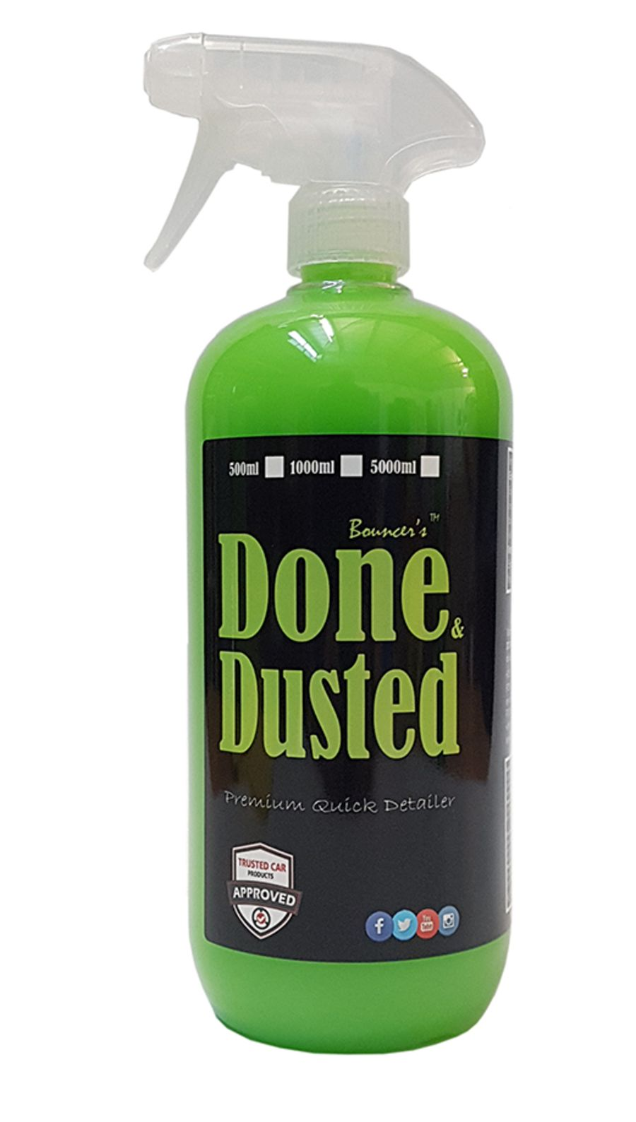 Bouncer's Done & Dusted Quick Detailer 1000ml