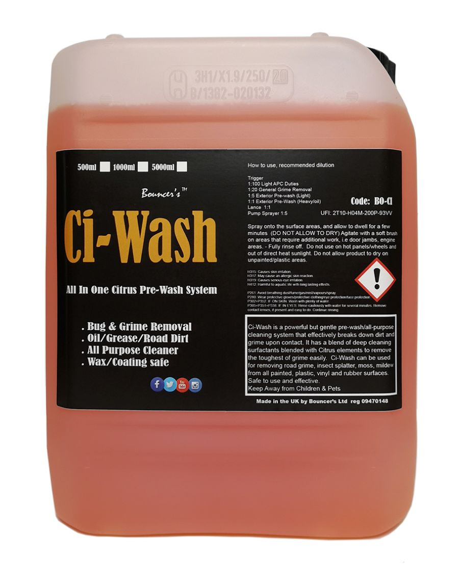 Bouncer's Ci-Wash All in One 5 Ltr