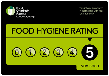 Food hygiene rating 5
