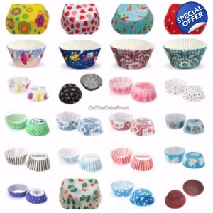 60 Eddingtons cupcake cases large baking liners