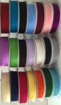Organza ribbon 15mm wide roll