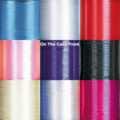 Crimped balloon curling ribbon 5mm wide