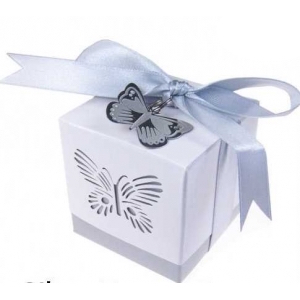12 Favour Boxes wedding party butterfly laser cut